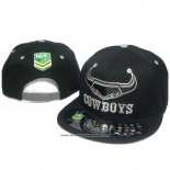 NRL Snapback Gorra North Queensland Cowboys Negro