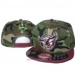 NRL Snapback Gorra Manly Warringah Sea Eagles Camuflaje